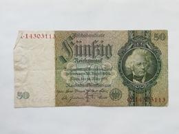 GERMANIA 50 MARK 1933 - 50 Mark