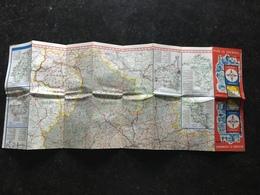 20C -  Plan Belgique Et Luxembourg Touring Fina - Cartes Routières