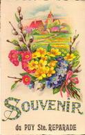 Bouches Du Rhone, Puy Ste Reparade, Souvenir. - Autres Communes
