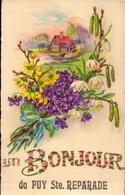 Bouches Du Rhone, Puy Ste Reparade, Un Bonjour Du ...... - Autres Communes