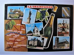 FRANCE - LA CHAMPAGNE - Vues - Champagne-Ardenne