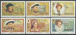 Ile De Man 2003 Yvertn° 1097-1102 *** MNH Cote 12,50 Euro The House Of Tudors - Man (Ile De)