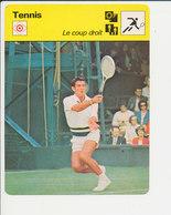 Le Coup Droit Ken Rosewall  / Vintage Sport 01-FICH-Tennis-4 - Sports