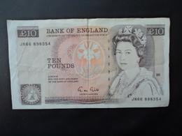 GRANDE BRETAGNE : 10 POUNDS   ND (1989-1991)   P 379c      TTB - 1952-… : Elizabeth II