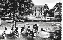 LE LIEGE ( 37 ) - Château Du Courbat , La Piscine   ( C.P.S.M. , Pt - Ft ) - Other Municipalities