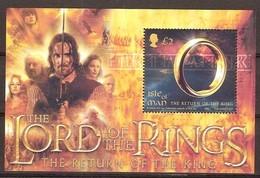 Ile De Man 2003  Yvertn° Bloc 54 *** MNH  Cote 10 Euro Lord Of The Rings - Man (Ile De)