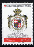 SMOM 2008 Sass.907 MNH/** VF - Malte (Ordre De)