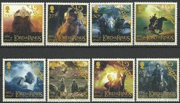 Ile De Man 2003  Yvertn° 1128-1135 *** MNH  Cote 18,50 Euro Lord Of The Rings - Man (Ile De)