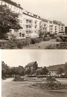 Slubice ( Polen ) : Plac Przyjazni / Ulica Jednosci Robotniczej ---- 2 Cards - Pologne