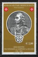 SMOM 2005 Sass.805 MNH/** VF - Malte (Ordre De)