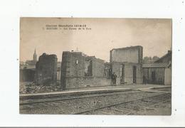 ROUSIES (NORD) 5 GUERRE MONDIALE 1914 - 1918 . LES RUINES DE LA GARE - France
