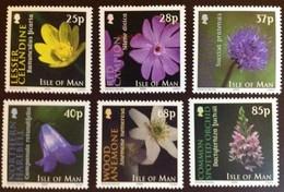 Ile De Man 2004 Yvertn° 1155-1160*** MNH  Cote 15,00 Euro Flore Bloemen Fleurs Flowers - Man (Ile De)