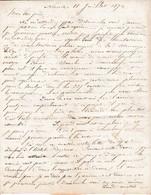 1874 NANTES - L.A.S.BRICE  à M. BRICE ARMATEUR Petit Placitre ST MALO - - Historical Documents