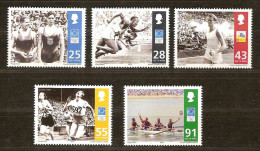 Ile De Man 2004 Yvertn° 1167-71 *** MNH Cote 13,00 Euro Sport - Man (Ile De)