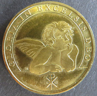 Medaille Deutschland Ca. 1980 Weihnachtsmedaille Pax In Terra 10g Bronze Stgl - Deutschland