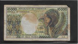 Cameroun - 10000 Francs - Pick N°20 - B - Camerun