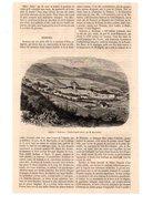 Coupure De Presse - 1 Feuille - 1 Gravure - Année 1860 - Algérie - Nedroma - Prints & Engravings