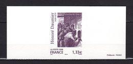 """"""" OEUVRE DE HONORE DAUMIER """" Sur: Gravure Officielle De 2008. N° YT 4305 Parfait état ! - Documents Of Postal Services"""