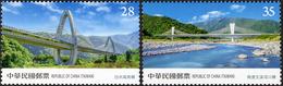 2020 Suhua Highway Stamps Bridge River - Ponts