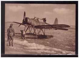 DT- Reich (008998) Propagandakarte Bord Und Küstenaufklärer Vom Baumuster Ar196 Eines Dieser Flugzeuge, Ungebraucht - Briefe U. Dokumente
