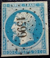 453 - 14 B- PC 1599 Jussey  Haute-Saone 69 - 1853-1860 Napoleon III