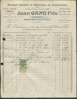 87 Eymoutiers Entreprise Jean Gane Fils Successeur Poutet Pour Mr Brondaux à Beneix Colon De Mme Pétiniaud - Francia