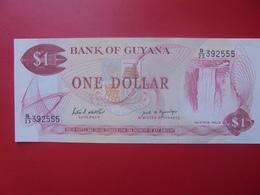 GUYANE 1$ 1966-1992 PEU CIRCULER (B.5) - Guyana