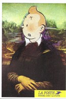 Carte Postale Tintin Pub La Poste Joconde - Cartes Postales
