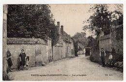 CAMBRONNE LES CLERMONT--VAUX SOUS CLERMONT---1937--Rue Principale  (très Animée ,voiture  ).............à Saisir - France