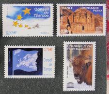 FRANCE - 2005 -  SERVICE - YT 130 à 133 ** - Dienstpost