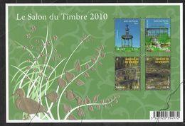 France 2010 Bloc N° 130 Neuf Luxe.jardins De France, Salon Du Timbre. - Sheetlets