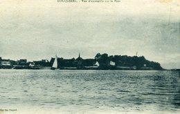 CPA  LOCQUIREC - Vue D'ensemble Sur Le Port - Locquirec