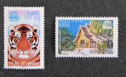FRANCE - 2006 -  SERVICE - YT 134 à 135 ** - Dienstpost