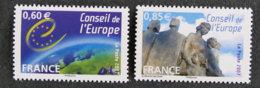 FRANCE - 2007 -  SERVICE - YT 136 à 137 ** - Dienstpost