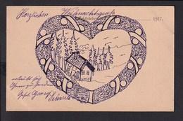 B38 /   Weihnachten / Handgemalt / Feldpost Um 1915 - Fürth - Other