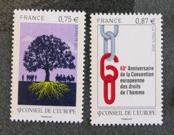 FRANCE - 2010 -  SERVICE - YT 146 à 147 ** - Dienstpost