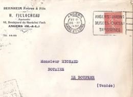 49 . MAINE ET LOIRE . ANGERS . OBL. TYPE FLIER . 1930   ANG108 - Marcophilie (Lettres)