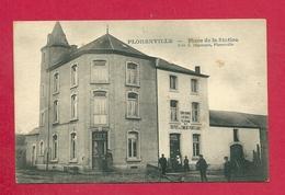 C.P. Florenville =  PLACE  De La  STATION  (  Café  Et  Dépôt  De Ciment PORTLAND ) - Florenville
