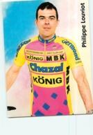 Philippe LOUVIOT . 2 Scans. Cyclisme. Chazal 1995 - Wielrennen