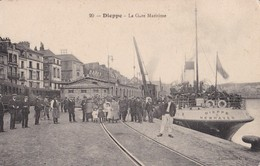 CPA/036 DIEPPE ...GARE MARITIME - France