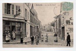 - CPA ROLLEVILLE (76) - La Rue Du Nord (CHOCOLAT-VINAY) - Edition Hernault N° 3 - - Francia