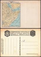 Italie-CP Neuve Firenze 1935 Pour L'expédition En Franchise Militaire Illustrée Par Une Carte Géographique (RD238)DC5752 - Non Classés