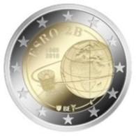 Belgie 2018  2 Euro Commemo ESRO Satelliet     Extreme Rare !!! - Belgium