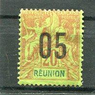 REUNION  N°  74 *  (Y&T)  (Charnière) - Ongebruikt