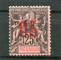 REUNION  N°  75 *  (Y&T)  (Charnière) - Ongebruikt