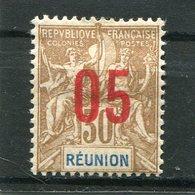 REUNION  N°  76 *  (Y&T)  (Charnière) - Ongebruikt