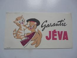 VIEUX PAPIERS - BUVARDS : JEVA - Animales