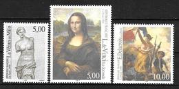 Année 1999 : Y. & T. N° 3234 ** N° 3235 ** Et N° 3236 ** Philexfrance 99 Du Bloc Feuillet - France