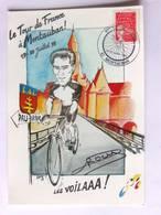 CPM - Le Tour De France à Montauban - 1998 - Tampon Du 85 ème TDF - Cyclisme