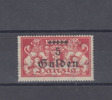 Danzig 5 Gulden Aufdruck Mit Falz - Germania